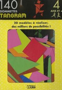 140 gommettes tangram : 20 modèles à réaliser, des milliers de possibilités