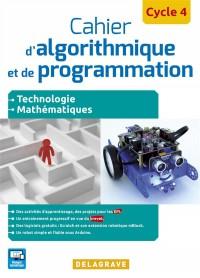 Cahier d'algorithmique et de programmation cycle 4 : Elève