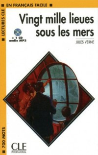 Vingt Mille Lieues Sous Les Mers Book + MP3 CD (Level 1)