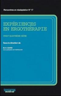 Expériences en Ergotherapie 24  Serie
