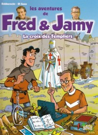 Les aventures de Fred & Jamy, Tome 1 : La croix des Templiers