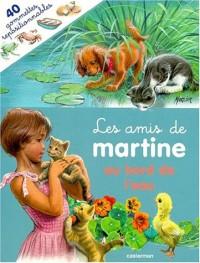 Les Amis De Martine (Avec 40 Gommettes Repositionnables): Les Amis De Martine Au Bord De L'Eau