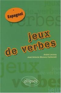 Jeux de verbes : Espagnol