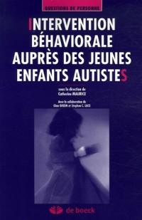 Intervention béhaviorale auprès des jeunes enfants autistes