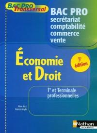 Economie et Droit 1e et Tle Bac Pro