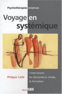 Voyage en systémique : L'intervenant, les demandeurs d'aide, la formation