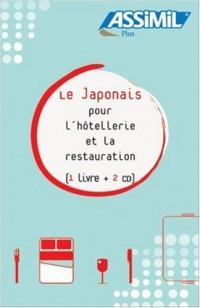 Le Japonais pour l'hôtellerie et la restauration ; Guide + CD Audio