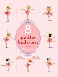 8 petites ballerines