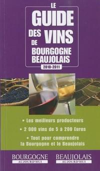 Le guide des vins de Bourgogne-Beaujolais