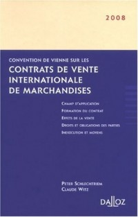 Convention de Vienne sur les contrats de vente internationale de marchandise