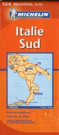Italie Sud : 1/400 000