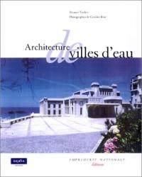 Architecture de villes d'eau