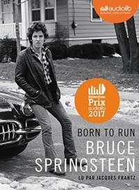 Born to run: Livre audio 2 CD MP3