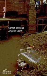 Carnet critique avignon 2009
