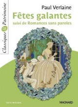 Fêtes galantes suivi de Romances sans paroles [Poche]