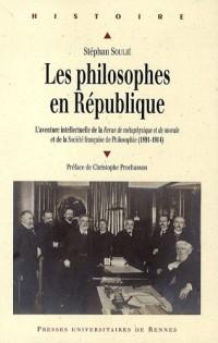Les philosophes en République