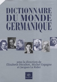 Dictionnaire du monde germanique