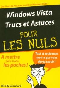 Windows Vista : Trucs et astuces pour les Nuls