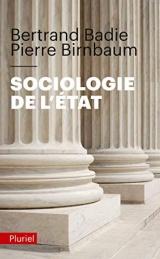 Sociologie de l'État [Poche]