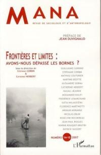 Frontières et limites