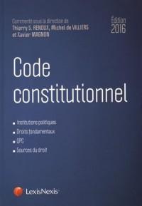 Code constitutionnel 2016