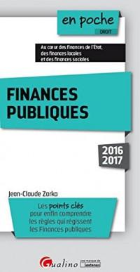 Finances publiques 2016-2017