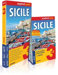 Sicile : Guide + Atlas + Carte routière