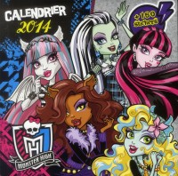 Calendrier Monster High 2014