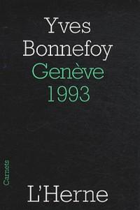 Genève, 1993