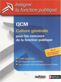 QCM de culture générale : Pour les concours de la fonction publique