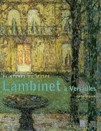 Peintures du musée Lambinet à Versailles