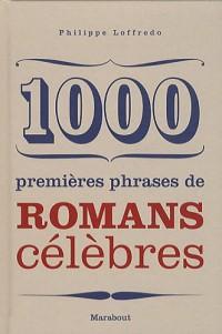 1000 premières phrases de romans célèbres