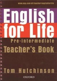 English for Life Pre-intermediate : Teacher's Book (1Cédérom)