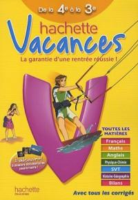 Hachette vacances de la 4e à la 3e