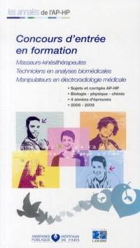 Concours d Entrée Masseurs Kinesitherapeute Tecnicien en Analyse Biomediale Manipulateurs en Electro