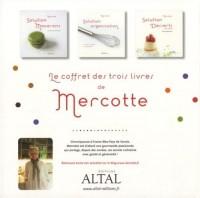 Le coffret des trois livres de Mercotte : Solution macarons ; Solution organisation ; Solution desserts pas à pas