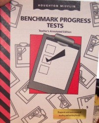 Benchmark Progress Tests; Diagnosis and Assessment of Reading and Writing Levels (Teacher's Annotated Edition (INVITATIONS TO LITERACY), Grade 5)