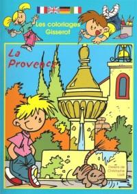 Les Coloriages Gisserot : la Provence