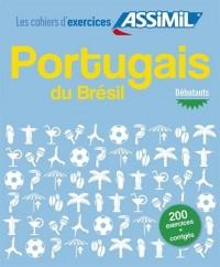 Portugais du Brésil, cahier d'exercices pour débutants
