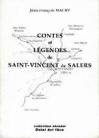 Contes et légendes de Saint-Vincent de Salers (Cantal) : Edition bilingue français-auvergnat