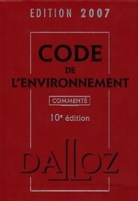 Code de l'environnement 2007
