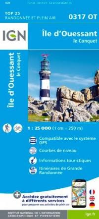 0317OT ILE D'OUESSANT - LE CONQUET