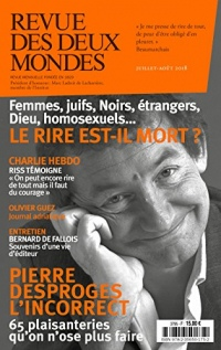 Revue des Deux Mondes juillet août 2018: Le rire est-il mort ?