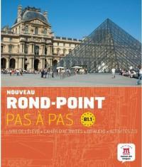 Nouveau Rond-Point Pas a Pas B1.1 Livre Eleve