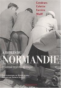 A bord du Normandie : Journal transatlantique