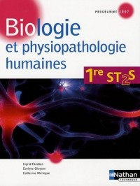 Biologie et physiopathologie humaines 1re ST2S : Programme 2007
