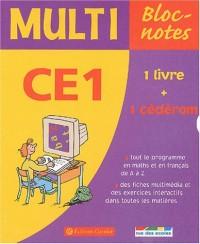 Multi Bloc-notes CE1 (1 CD-Rom inclus)
