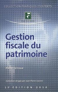 Gestion fiscale du patrimoine
