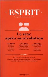 Revue Esprit N 436 le Sexe Aprs Sa Revolution