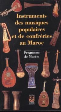 Instruments des musiques pop. du maro